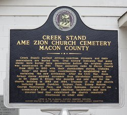 Creek Stand AME Zion Church Cemetery