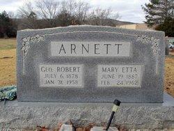 Mary Etta <i>Snider</i> Arnett
