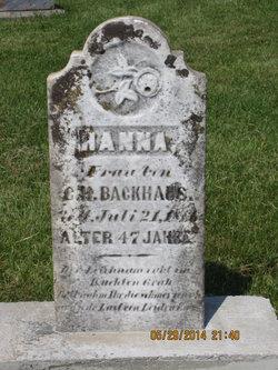 Hanna Backhaus
