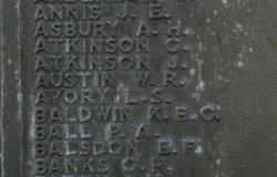 Stkr 1C George Hamilton Banks