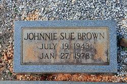 Johnnie Sue Brown