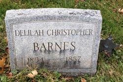Delilah <i>Christopher</i> Barnes