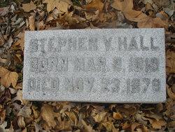 Stephen V Hall