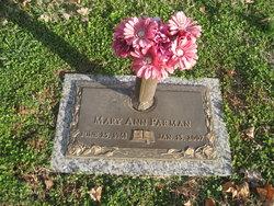 Mary Ann <i>Childress</i> Parman