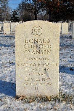 Sgt Ronald Clifford Fransen