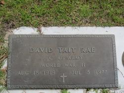 David Tait Dave Rae, Sr