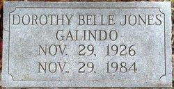 Dorothy Belle <i>Jones</i> Galindo