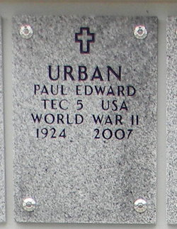 Paul Edward Urban