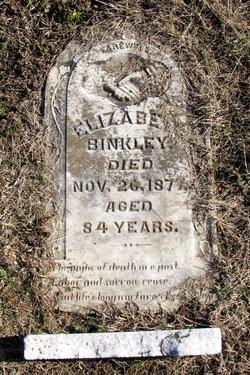 Elizabeth <i>Hurt</i> Binkley