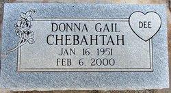 Donna Gail Chebahtah