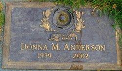 Donna M Anderson