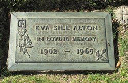 Eva M <i>Sill</i> Alton