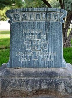 Geneva <i>Ransom</i> Baldwin