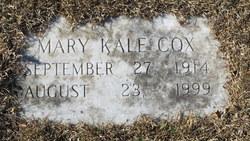 Mary <i>Kale</i> Cox