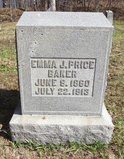 Emma J <i>Price</i> Baker