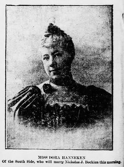 Dorothea Dora <i>Hanneken</i> Bockius