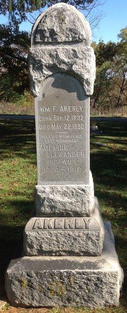Adeline <i>Alexander</i> Akerly
