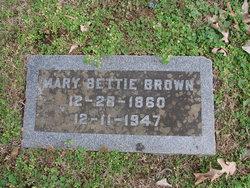 Mary Bettie <i>Yeates</i> Brown