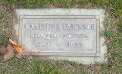 Agnes Kristina <i>Esbjornsson</i> Erickson