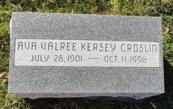 Ava Valree <i>Kersey</i> Croslin