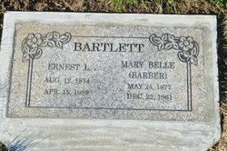 Mary Belle <i>Barber</i> Bartlett
