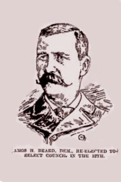 Pvt Amos H Beard