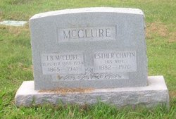 Esther <i>Chafin</i> McClure