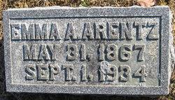 Emma A. <i>King</i> Arentz