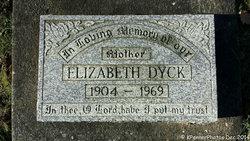 Elizabeth <i>Giesbrecht</i> Dyck