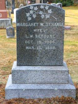 Margaret W <i>Strange</i> Bethune