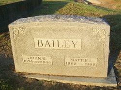 Mattie Ida <i>York</i> Bailey