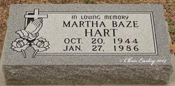 Martha Louise <i>Baze</i> Hart