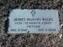 LCpl James Marvin Bales