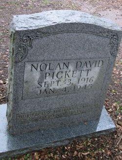 Nolan David Pickett