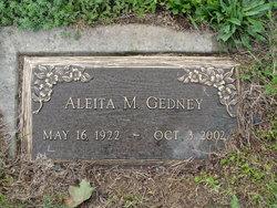 Aleita M. <i>Casler</i> Gedney