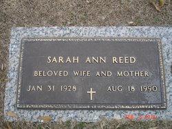 Sarah Ann <i>Glaspy</i> Reed