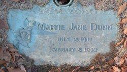 Mattie J. <i>Strickland</i> Dunn