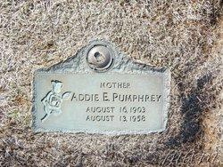 Addie Edith <i>Stinchcomb</i> Pumphrey