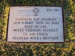 Carolyn Sue <i>Dufoe</i> Atchley