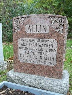 Ada Fern <i>Warren</i> Allin
