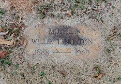 Willie Olive <i>Thomas</i> Norton