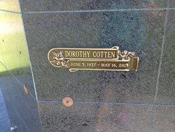 Dorothy C Dottie <i>Rector</i> Cotten