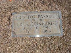 Annie Lois <i>Parrott</i> Reinhardt