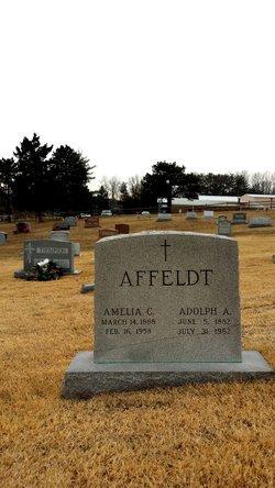 Amelia Catherine <i>Glenzer</i> Affeldt