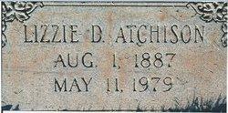 Lizzie Azline <i>Dorman</i> Atchison