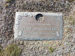 Elsie May <i>Kelley</i> Baker