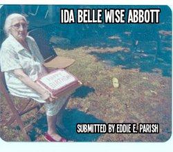 Ida Belle <i>Wise</i> Abbott