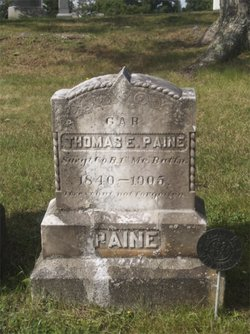 Sgt Thomas E. Paine