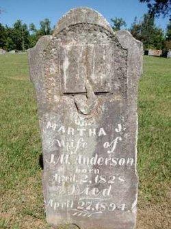 Martha J. <i>Kelton</i> Anderson