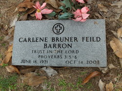 Wanona Carlene <i>Bruner</i> Barron